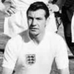 Johnny Haynes of Fulham & England - Reported to be the first footballer in England to Earn £100 per week